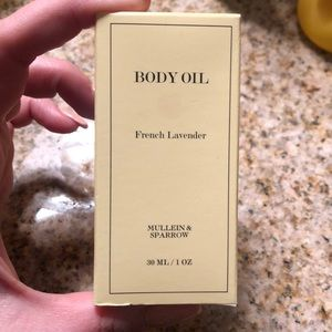 Other - New never used body oil